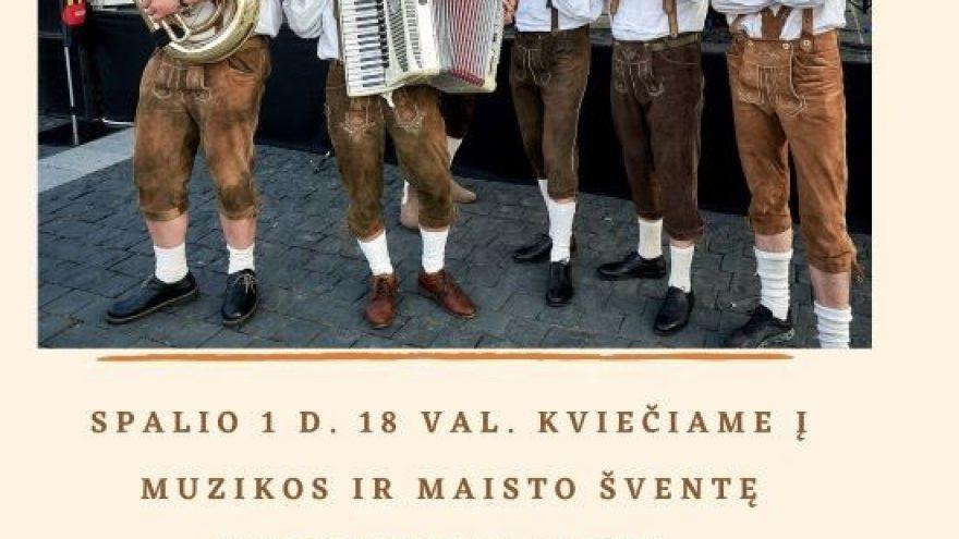 """Muzikos ir maisto šventė """"Oktoberfest 2021"""""""