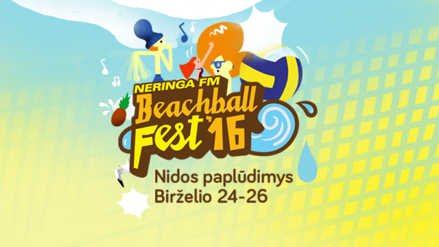Neringa FM Beachball FEST'16