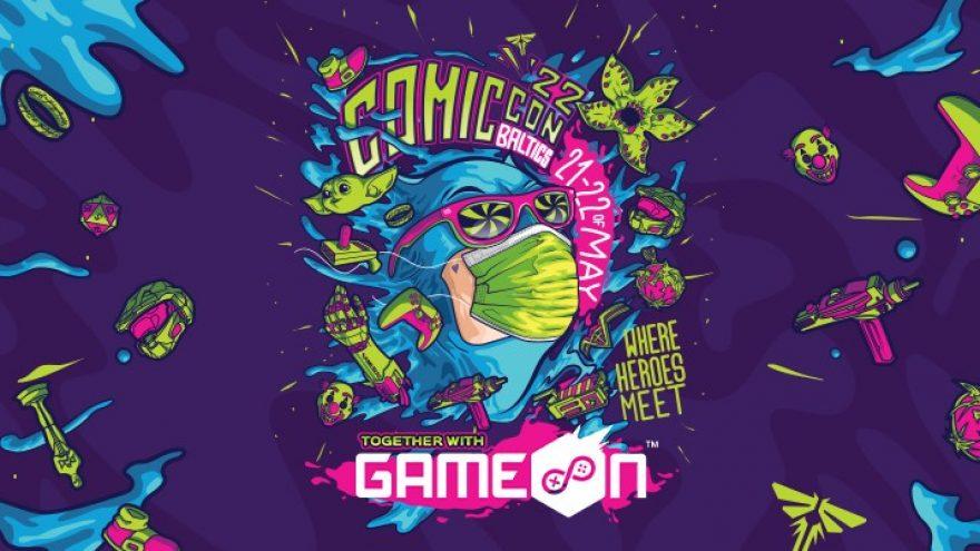 Comic Con Baltics 2022 Dviejų dienų bilietas
