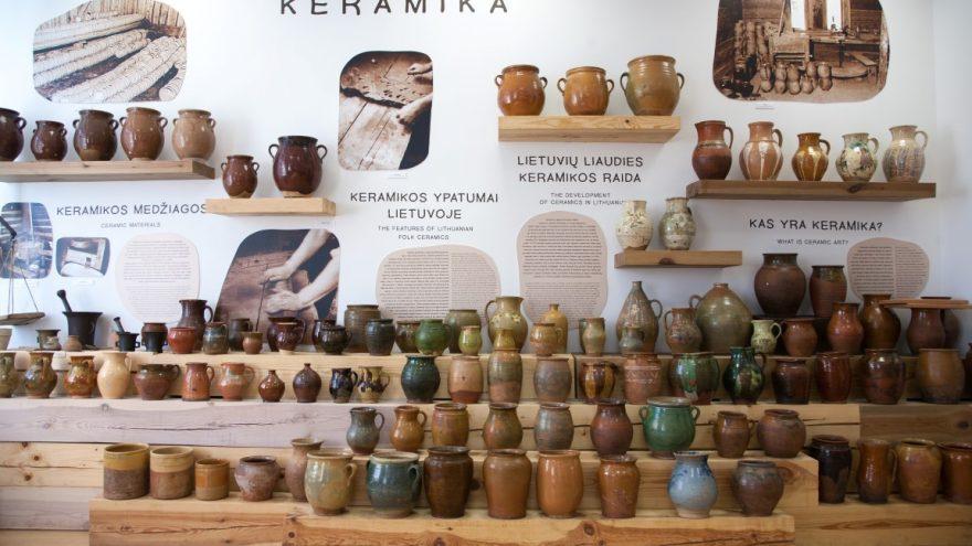 Vytauto Valiušio keramikos muziejus. Lankytojo bilietas