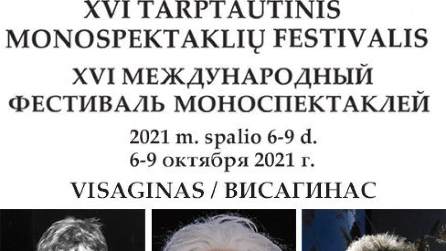 XVI tarptautinis monospektaklių festivalis ATSPINDYS