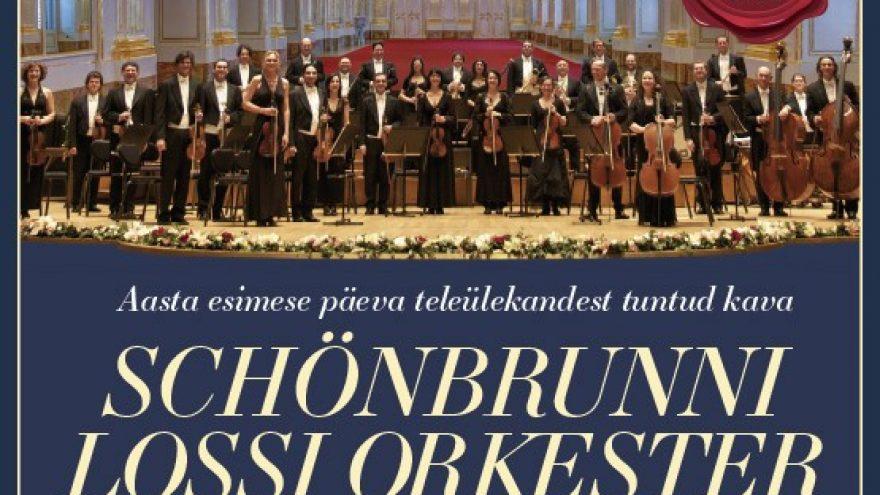 SCHÖNBRUNNI LOSSI ORKESTER – Suur Viini Uusaastakontsert 2022 (05.01.21 asendus)
