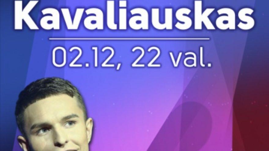 Nemokamas Valentino dienos koncertas su Martynu Kavaliausku