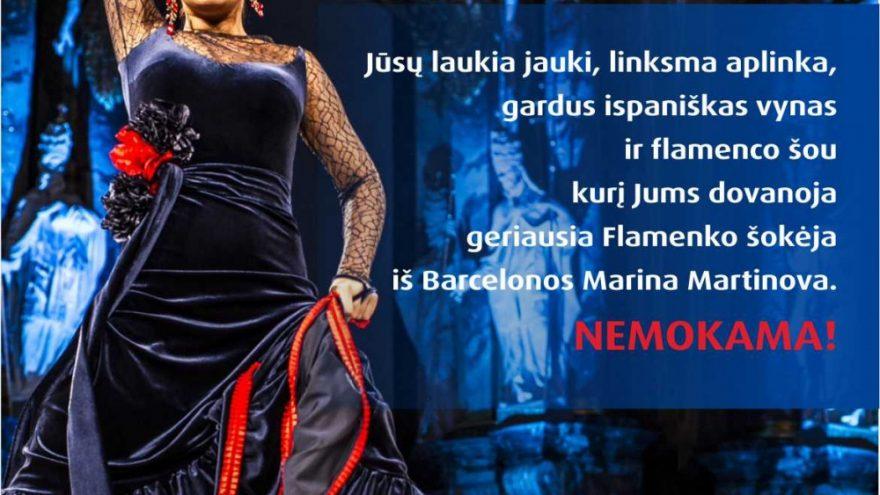 Flamenko fejerija! Šokiai Flamenko ritmu
