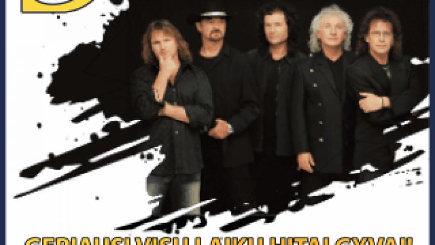 """Legendinės grupės """"Smokie""""  Palanga"""