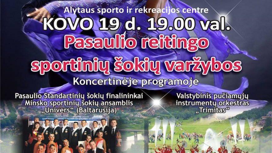 """Sportinių šokių varžybos """"Alytus open 2016"""""""