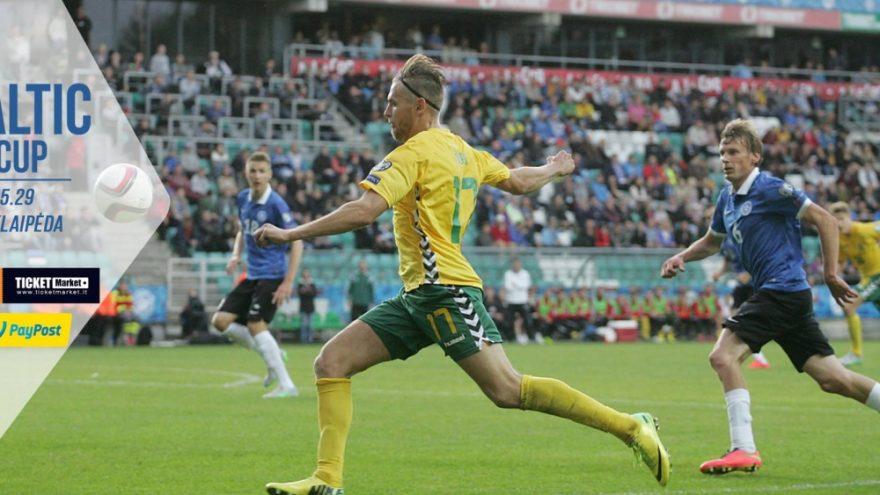 Baltijos futbolo taurė / LIETUVA – ESTIJA / Klaipėda