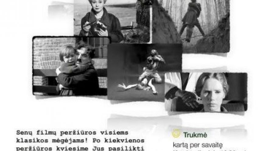 Senų filmų peržiūros/aptarimai